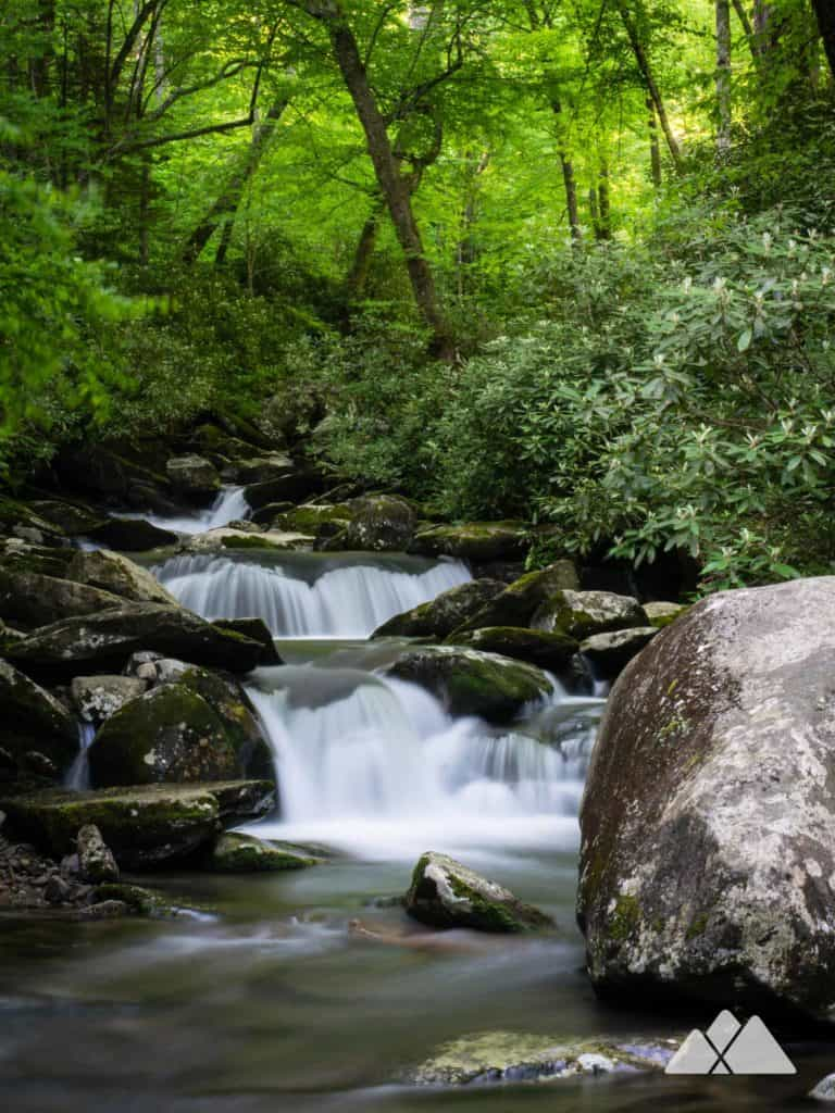 Chimney Tops Trail in the Smoky Mountains
