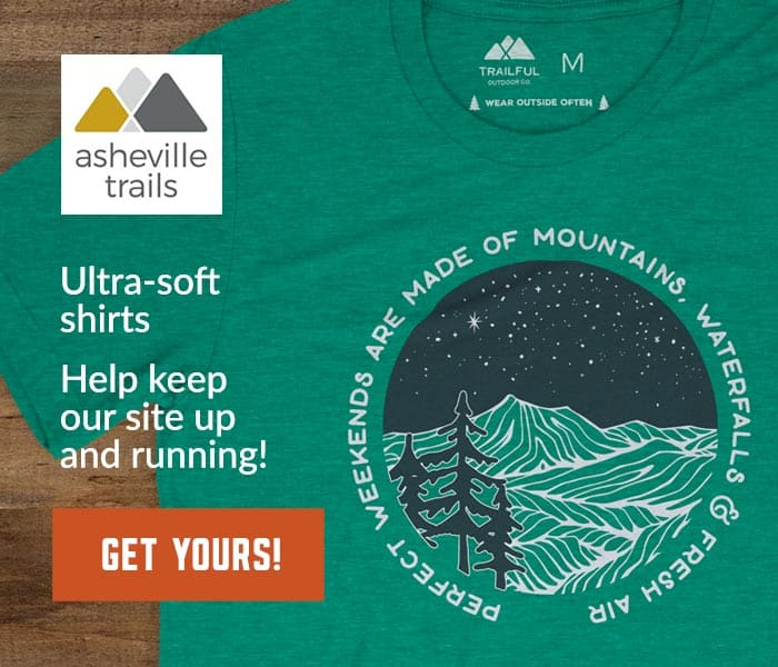 Asheville Trails Perfect Weekends Shirts: inspired by great North Carolina adventures